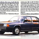 Audi 100 5D, Magazine Ad / Anzeige, AMS 1979 02