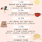 16:8 intermittent fasting plan to lose weight for healthy lifestyle.
