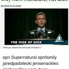 Seriously Why Does Everyone Make Supernatural a LOT Gayer Than It Is They Hunt Monsters Not Dick Jiggs 1097 3 Days Ago They Hunt Monsters Not Dick The-Doctor-To-My-Tardis ON THE RISE OF DICK Ithink You Missed the Entire Plot of Season 7 Spn Supernatural Spnfamily Jaredpadalecki Jensenackles Mishacollins Sam Dean Winchesters Castiel Destiel Fandom Ship Otp   Meme on astrologymemes.com