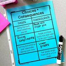 Choices and Consequences Lesson