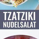 20-Minuten Tzatziki-Nudelsalat