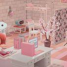 Animal Crossing New Horizons Inspiration Ideas Dorm Room Interior House Molly QR Code