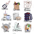 Food - To Do Planner Icons