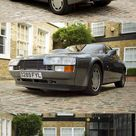 1986 Aston Martin V8 Vantage Zagato / 430hp 5.3l V8 / Hexagoncalssics / 89 produced / grey / UK / 17 359
