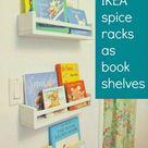 Ikea Spice Rack Bookshelf