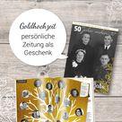 Geschenk zur Goldenen Hochzeit: Zeitschrift gestalten