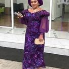 2021 Latest Iro and Buba Blouse Styles With Lace and Ankara