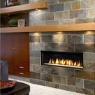 Gas Fireplace Mantel