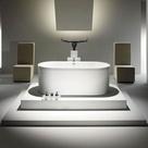 Kaldewei Centro Duo Oval Freestanding Bath