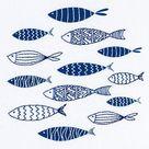 GOLDFISH embroidery kit, Animal Embroidery, beginner embroidery kit, hand embroidery kit, DIY embroi
