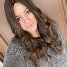 100% Human Hair Kosher Wig Sheitel 23 Inch Brown with Highlights Medium Cap