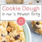 Cookie Dough Rezept: Keksteig zum Naschen