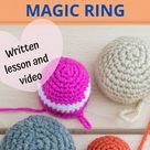 Magic Ring   Amigurumi magic circle   How to do Magic ring crochet   How to start an Amigurumi