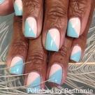 Diagonal Nails