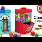 How to Make a Candy Dispenser | Easy DIY Paper Craft