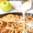 Cinnamon Rolls with Apple Pie Filling