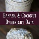 Banana Coconut Overnight Oats