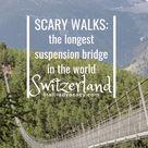 Hiking Zermatt: The Longest Pedestrian Suspension Bridge In The World! - Trail Advocacy