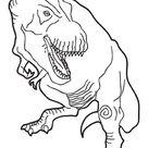Omalovánky Dinosauři k vytisknutí