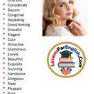 English Phrases - Pretty - Lessons For English