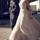 Simple A Line Tulle Prom Dresses Appliques Floor Length Evening Dresses 319516