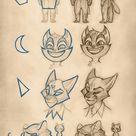 Lackadaisy Flimflam Notes On Character Design