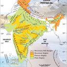 India Physical Map   IAS Abhiyan