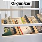 DIY Spice Drawer Organizer