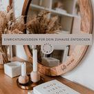 Einrichtungsideen für dein Zuhause entdecken   Die Welt von Eulenschnitt   Runder Spiegel