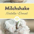 Nutella Donut Milchshake