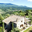 Tuscan Country Farmhouse With Views For Sale