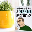 Come Dine With Me Whisk Birthday Card   Whisk Meme Card   Funny Birthday Card   Joke Birthday Card   Friend Birthday Card   Meme Pun Card