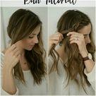 Beauty // Messy Braided Bun Tutorial   Lauren McBride