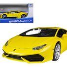 Lamborghini Huracan LP610-4 Yellow 1/24 Diecast Model Car by Maisto