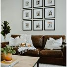 throw pillows living room leather couch