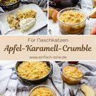Soul-Food: Leckerer Apfel-Karamell-Crumble