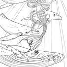 Mermaid Coloring