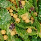 Ensalada fría de garbanzos y espinacas - Receta de Tasty details