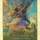 Lá 37. Act If Your Partner Is Here – Whispers of Love Oracle Cards