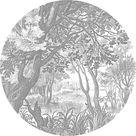 Kek Amsterdam Wallpaper Circle Xl Engraved Landscapes 237 5 Cm