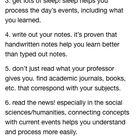 20 wichtige lernfähigkeiten / tipps, die ich von meinen professoren gelernt habe - maaghie