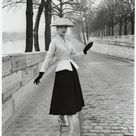 Pictures of Dior's New Look in 1950