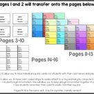 Back to School Editable Student Login Cards