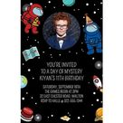 Custom Spies In Space Cardstock Photo Invitations Size 4in X 6in Birthday Party Supplies   Birthday Party Supplies   Kids Birthday Party Supplies   Boys Birthday Party Themes   Imposter Video Game Birthday Party