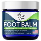 Foot Cure All Natural Foot Balm – Moisturizing Foot Care Cream For Dry Skin, Cracked Heels & Callus Removal   Strong Antifungal Action For Itchiness, Toe Nail Infections & Athlete's Foot – Made In USA   Default