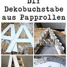 DIY Deko-Buchstabe - CreativLIVE
