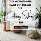 Feng Shui-Wohnzimmer einrichten: Farben & Dekoration
