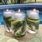 DIY Summer Mason Jar Luminaries   Summer In Jars - A Little Claireification