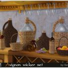 Sims by Severinka: Avignon wicker set • Sims 4 Downloads