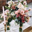 50 wunderschöne Rosa Hochzeitsdeko-Ideen - Hochzeitskiste